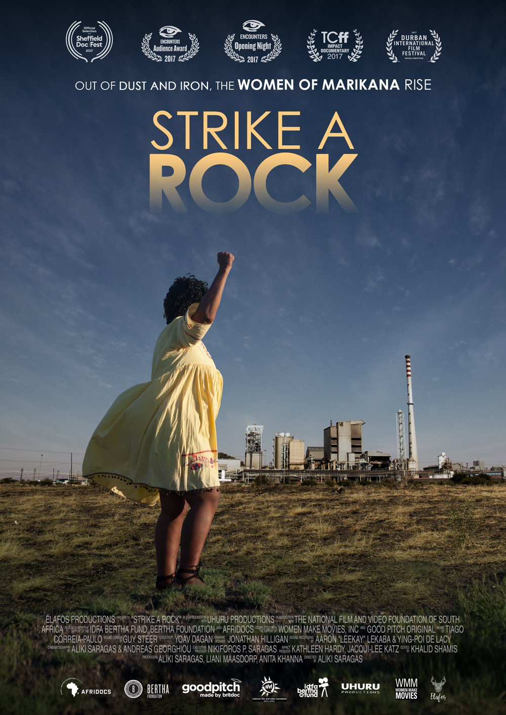 Meet Aliki Saragas , The director and producer of Strike A Rock, A Film about the Womxn of Marikana.